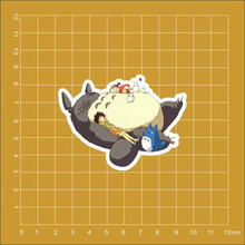 My Neighbor Totoro animation Tonari no Totoro refrigerator skateboard trolley case backpack Tables sticker PVC sticker