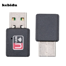 kebidu 2017 High Speed 150Mbps Mini USB Wifi Wireless Adapter MT7601 802.11 B/G/N Network Card LAN Dongle