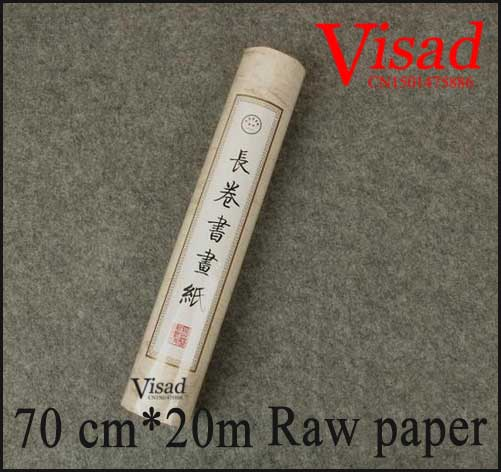 Japanese rice paper rolls watercolour paper chinese calligraphy raw paper painting calligraphy paper blank scroll 70cm*20m<br>