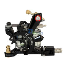 High Quality 10 Wrap Coils Tattoo Machine Gun Spring Shader Ink Supply Cast Iron Core NEW Style  95x75x25mm Size Good Design