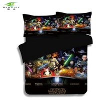 Star Wars Red Sword Bedding Set 3D Printed Home Textiles for Home Duvet Cover size twin Full Queen cotton bedlinen Best Gift