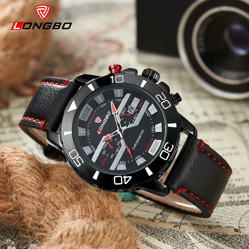 LONGBO Luxury Top Brand Mens Sports Watches Fashion Casual Quartz Watch Men Military Wrist Watch Male Relogio Clock 80189<br><br>Aliexpress