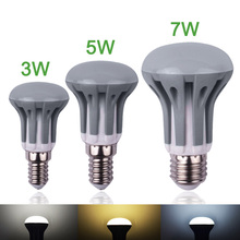 New LED Bulb E14 E27 3W 5W 7W LED Light SMD2835 220V 240V Bombillas Led Energy Saving LED Lamp R39 R50 R63 Dimmable