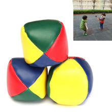 Hot Juggling Balls Set Classic Bean Bag Juggle Magic Circus Beginner Kids Toy