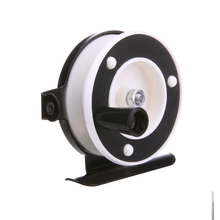 Portable Winter Ice Fishing Reels ABS Engineering Plastic Fly Fishing Reels Outdoor Ice Fishing Reel Gearlly pesca en hielo(China)