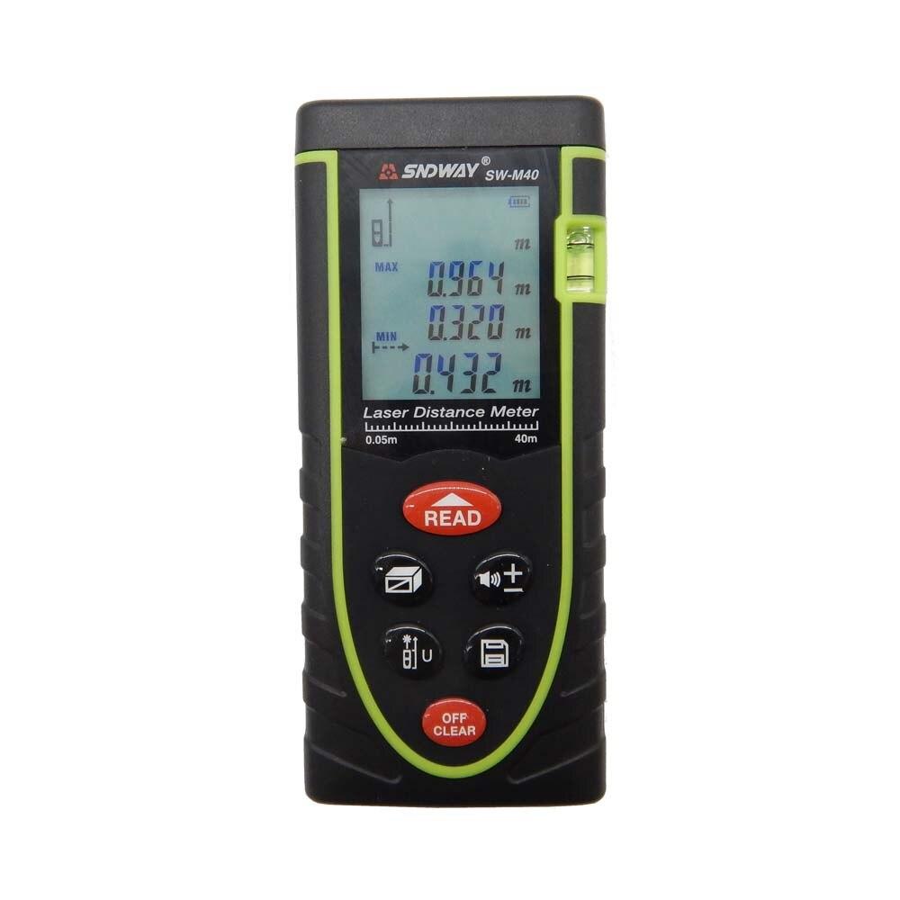 Laser distance meter 40M Digital Rangefinder Range finder Tape measure Area/volume tool 40M/60M/80M/100M available<br><br>Aliexpress
