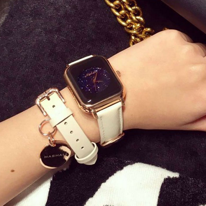 New Women Fashion Famous Brand Women Quartz Wrist Watch Set With bracelet Luxury Design women watches relojes mujer 2016<br>