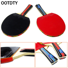 1PC Table Tennis Racket PingPong Paddle Bat Case Bag Outdoor Sport Games