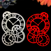 The clock dial Scrapbooking Metal Cutting Dies DIY Album Embossing Stencils Die Cutting Template Paper Cards
