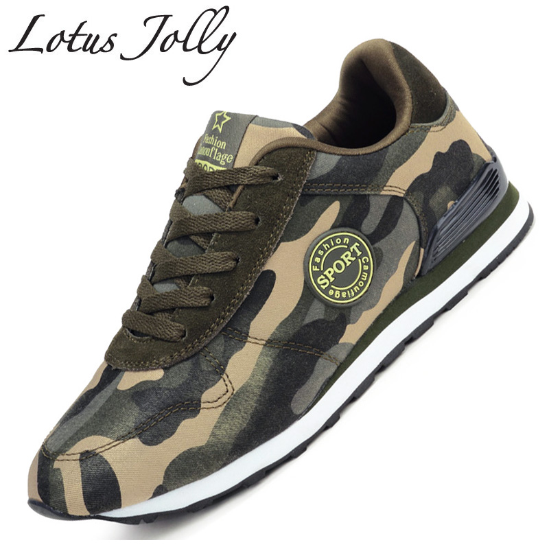 Fashion Lovers Unisex Canvas Shoes Camouflage Military Women Casual Shoes Autumn Breathable Camo Flats Women Chaussure Femme(China (Mainland))