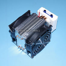 TEC2-19008 12V 60W double fans layer water cooler cooling film make Cold water machine circulating water refrigeration kit