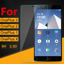 Tempered Glass Screen Protector For OnePlus 3t 3 One Plus 1+ 2 Two 3 Three X 9H Toughened Explosion Proof Protective Film Guard