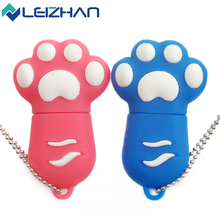 Cute usb flash drive cat claw pen drive 32gb 16gb pendrive 8gb memoria usb stick 4gb usb2.0 memory stick