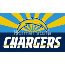 San Diego Chargers digital print Color bar Banner flag 3ft X 5ft polyester San Diego Chargers Flag Banner