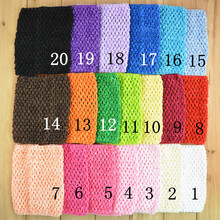 0-12M 15cm 6inch 34Colors Waffle Crochet Tutu Tube Tops Baby Girl Chest Wrap Infant Headband Baby Accessories Girl Hairband