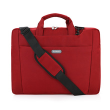 Laptop Bag 15 15.6 inch Nylon Computer Laptop Tablet Bag Case Messenger Shoulder unisex men women Notebook Bags 2016 New hot(China)