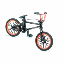 High quality Fun mini BMX finger bikes toys for children boys mountain bicycle model gadgets funny Novelty Gag Games sports(China)