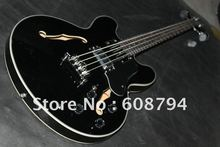 Wholesale eb-2 Bass Guitar Very Beautiful Custom 4 strings Black JAZZ BASS Electric BASS Guitar China Guitar Factory(China)