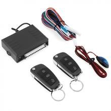 12V Auto Car Alarm System Vehicle Keyless Entry System with Remote Control & Door Lock Automatically for Toyota(China)