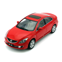 New 1:18 Mazda 6 Red Sedan Alloy Diecast Car Model Toy Sports Car Version Collection For Kids Gifts Original Box Free Shipping(China)