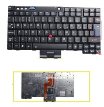 New laptop US Keyboard For IBM Lenovo ThinkPad X60 X60S X61 X61S X60t X61T Free Shipping