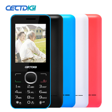2016 Cheapest Original Cell Phone CECTDIGI 2045 Unlocked Dual SIM Bar Phone Quad Band Flash light Keyboard Old Men Phone French