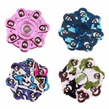 Graffiti Fidget Spinner EDC Plastic Hand Spinner Autism and ADHD Anti Stress Finger Gyro Adult Children Toy Spinner