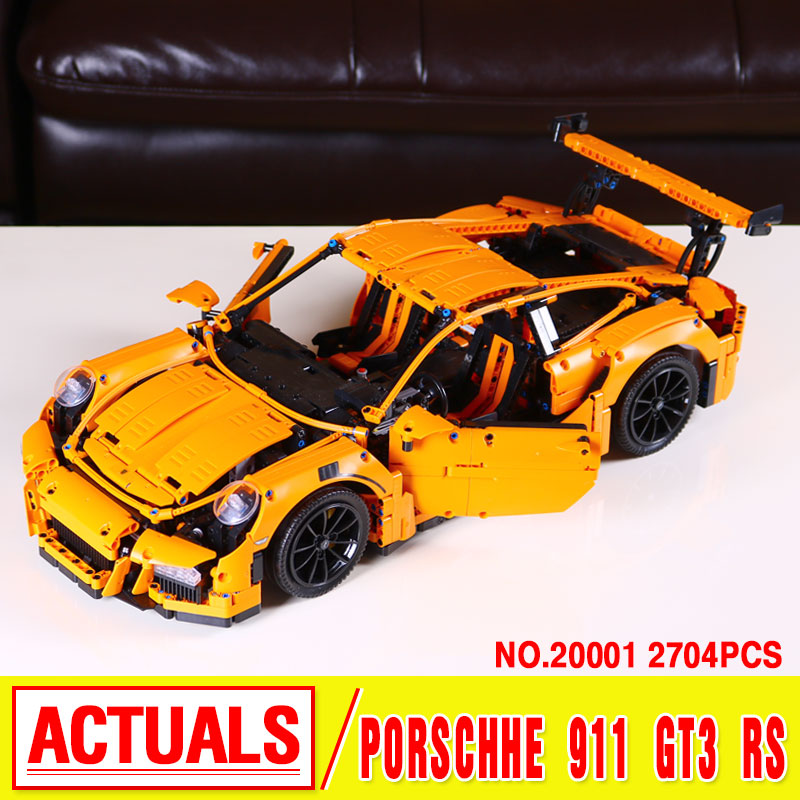 lepin 20011 NEW 1605pcs technic remote control electric off-road vehicles Educational building block toys compatible with 41999