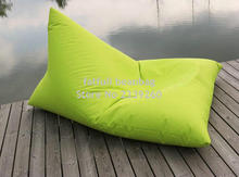 Cover only No Filler - hotsell waterproof outdoor Popular furniture relaxing bean bag wholesale for back support(China)