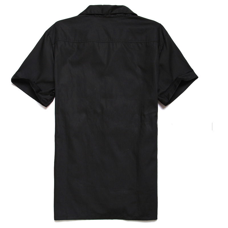 Patchwork Plaid Shirts  (1)