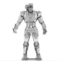 War Machine 3D Metal Puzzle For Children DIY Assembly Robot Model Kids Toys Jigsaw Puzzle For Boy Juguetes Educativos