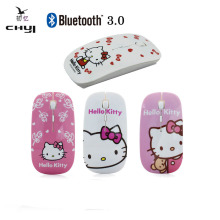 4 Pattern Hello Kitty 1600 DPI Cute Slim Ultra-thin Mause Optical Bluetooth Wireless Cordless Mouse Computer Mice PC Girl Gift(China)