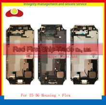 10Pcs/Lot For IPhone 5 5G Back Cover Battery Full Housing Assembly Chassis Frame With Flex Cables Sim Card Tray + Buttons