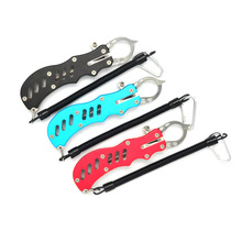 Aluminum Control fish clamp Lure pliers Fish Gripper Unhooking pliers Fishing equipment Free shipping(China)