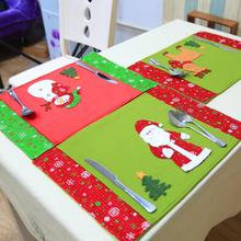 New Christmas Decoration Table Pad Christmas Restaurant Western Restaurant Z1010(China)