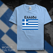 Greece mens t shirts 2017 jerseys nation team tshirt cotton t-shirt meeting fitness brand clothing tees country flags The Greek
