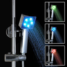 7colour Led Shower Head Faucet Water Current Energy led shower head temperature water-saving shower head