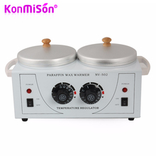 KONMISON Double Paraffine Warmer Wax Heater SPA Hand and Feet Epilator Paraffin Wax Machine Body Depilatory Hair Removal Tool