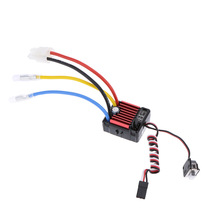 QUICRUN Series 1060 60A Waterproof Brushed ESC Speed Controller with 5V/2A Linear Mode BEC for 1/10 RC Car Parts(China)