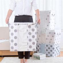 1PC Home Closet garment bag HOT selling Foldable Storage Clothes Blanket Quilt Closet Sweater Organizer Box Pouches 3(China)