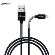 Fast Charging For iPhone Lightning USB Cable 2A For Audi S Line Logo A3 A1 A4 B6 B7 B8 A6 C5 A5 Q5 Q7 TT TTS R8 RS7 S4 S5 S6 S7