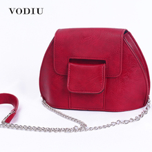 Buy Women Bag Handbags Shoulder Crossbody Sling Summer Leather Vintage Purse Chain Small Shell Red Ladies Casual Female Bolsas for $13.90 in AliExpress store