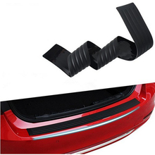 Car Styling Black Rubber Rear Guard Bumper Protector Trim cover For Buick VAUXHALL Opel Mokka ENCORE Enclave LaCrosse Regal(China)