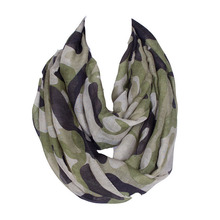 New classic Gift Camouflage Pattern Printed Scarf Women men Long Scarves Soft Viscose Warm Unisex Beach Shawl Cape