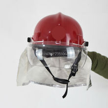 Free Shipping Can Resistant 300 Degree PEI Anti Fire Fire Fighting Police safety helmet