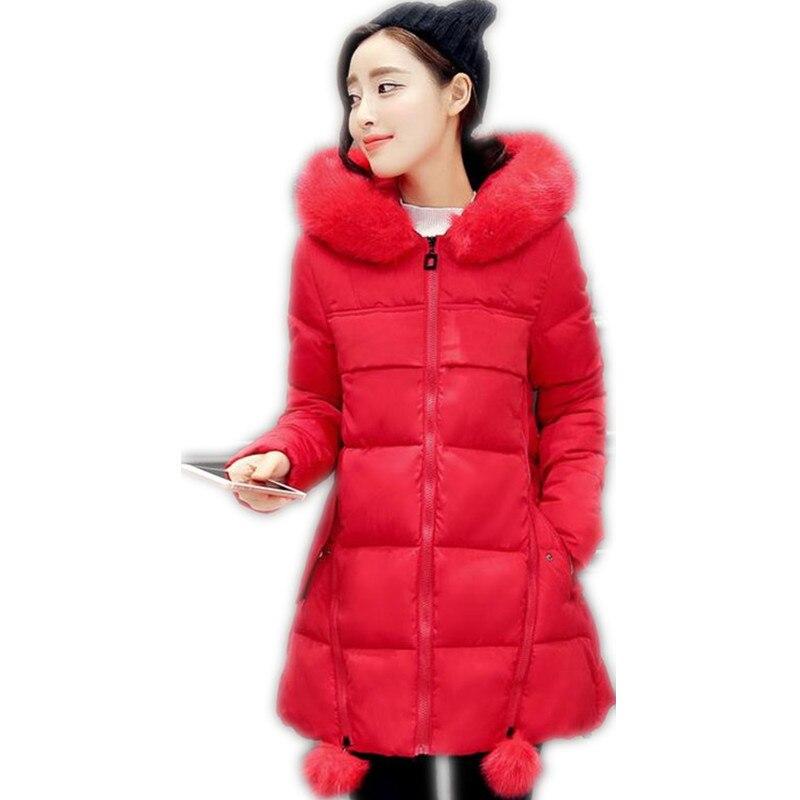 2017 Winter Warm coats For Fat MM Women wool Slim Five Colors  Hooded Cotton Coats Parka Warm Thick Outwear High Quality CQ006Îäåæäà è àêñåññóàðû<br><br>