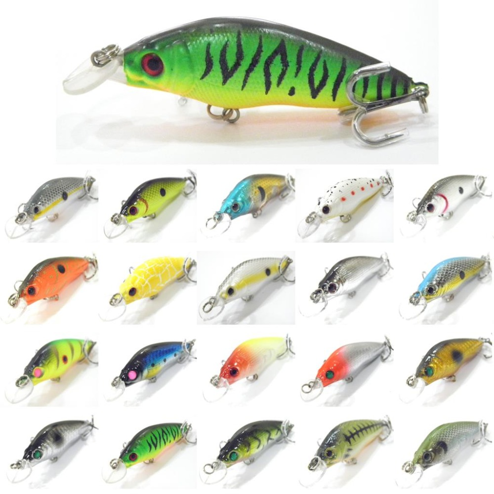 wLure Crankbait Hard Bait Shallow Depth Wide Swimming Action Short Body 8.1cm 7.1g #6 Hook Size Fishing Lure M583<br><br>Aliexpress