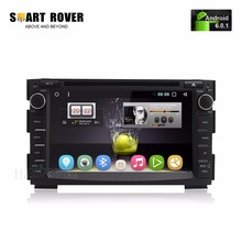 "7"" HD 1024x600 Android 6.0.1 Car DVD Stereo For Kia Ceed 2010 2011 2012 Venga Auto Radio RDS Audio Video GPS Glonass Navigation"
