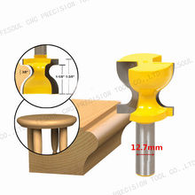 12.7mm*36.5mm-1PCS,CNC Solid Carbide tungsten Milling Cutter,woodworking router bit,Tables and chairs lines,door lines end mill(China)