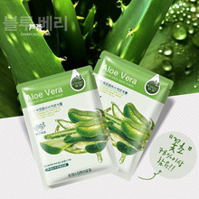 South Korean  Aloe Vera Blackhead Removal Acne Cleaner Deep Cleaning Peel Off Face Mask 30g Hanchan